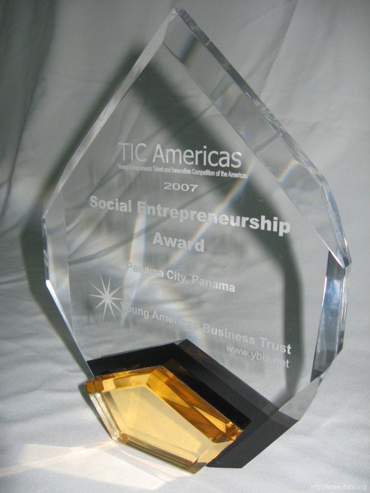 2007_05_TIC_AMERICAS_Best_Social_Entrepreneurship_Award