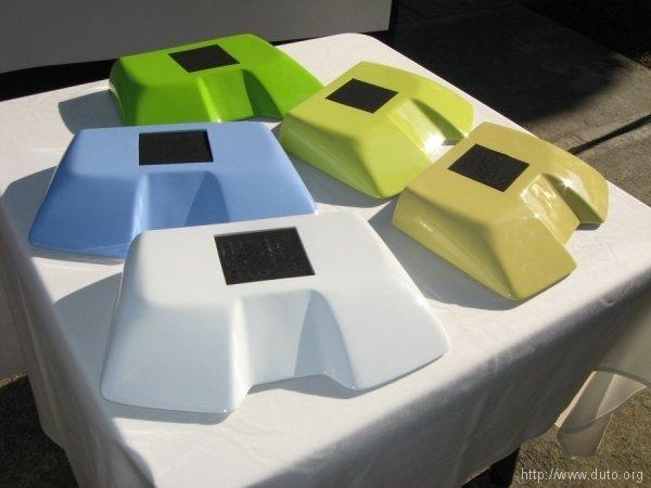 IRIS en cinco colores